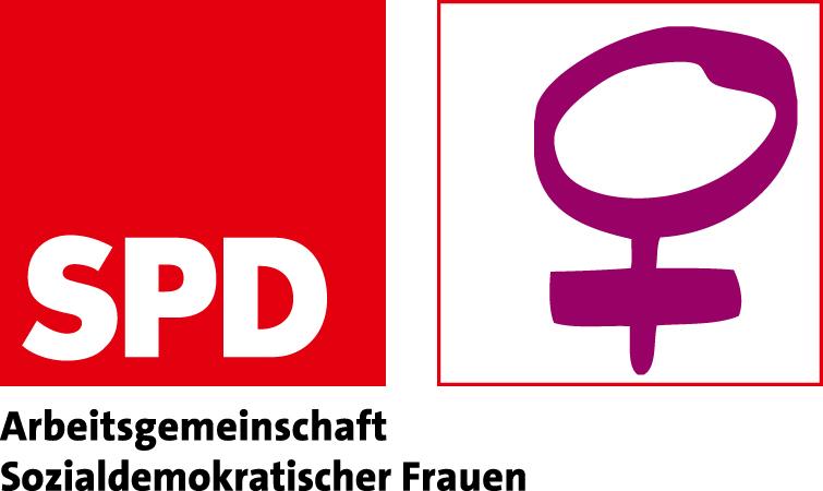 Logo der SPD-Arbeitsgemeinschaft Sozialdemokratischer Frauen